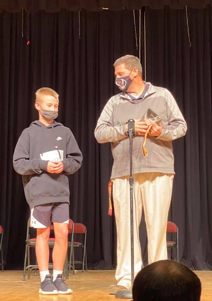 2021 Spelling Bee Winner... Ian Floyd
