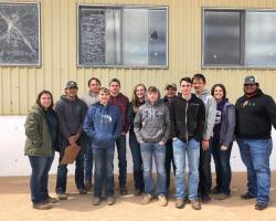 FFA Livestock Judging Teams Place at Jetmore
