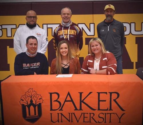 Peterson Signs With Baker University