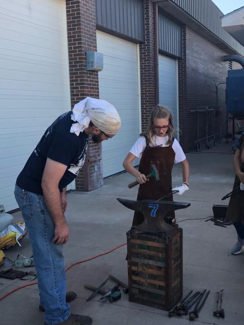 FHSU Blacksmith Workshop