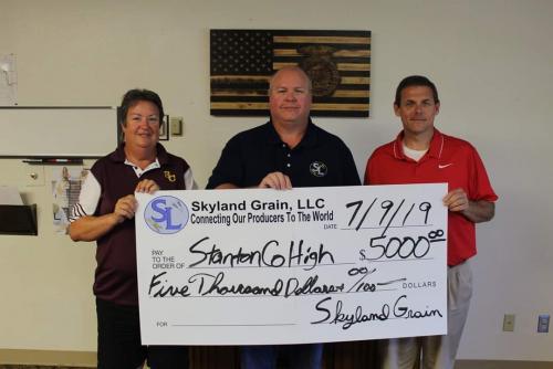 Skyland Scoreboard Donation