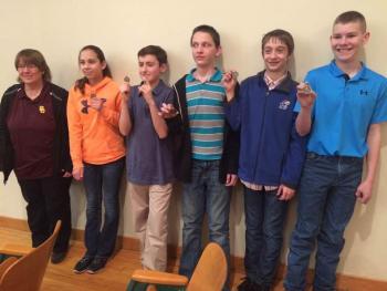 JH Quiz Bowl Team Wins League