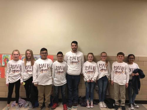 Elementary Math Contestants