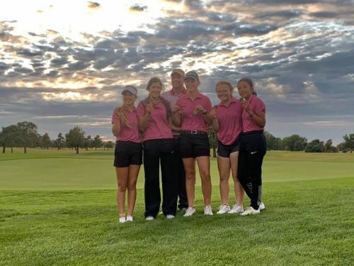 Girls Golf Takes 1st at Home
