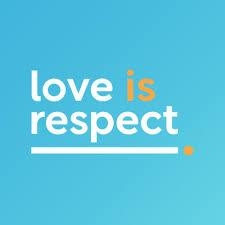 An Image showing loveisrespect