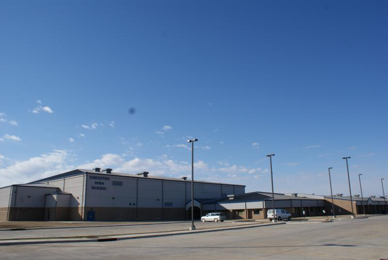 Landscape View facing Checotah High School