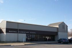 Landscape View facing Marshall Elementary School