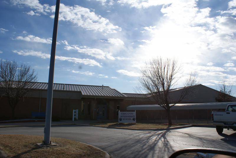 Landscape View facing Checotah Intermediate School