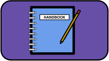Middle School Student Handbook Icon