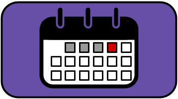 Middle School Calendar Icon