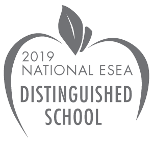 ESEA Distinguished School badge