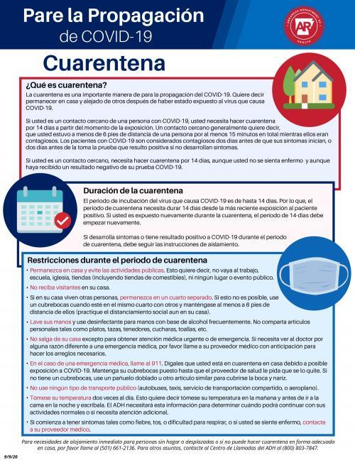 spanish quarantine