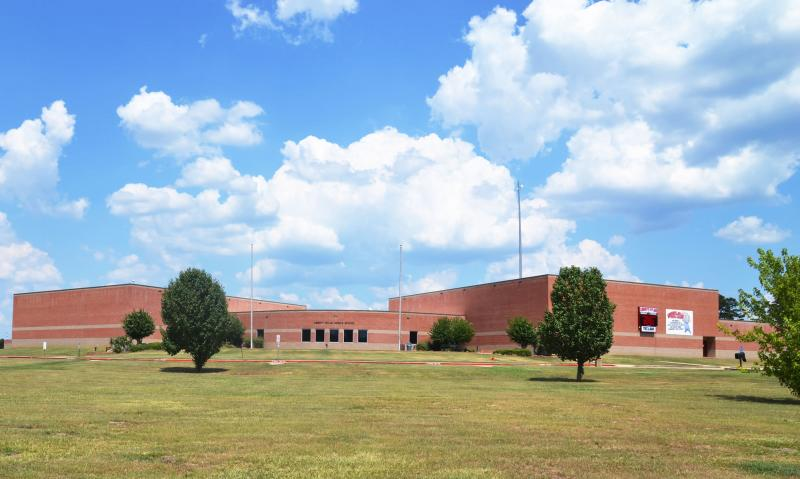 Landscape View facing Liberty-Eylau Middle School
