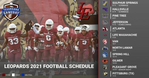 Liberty-Eylau High School Football 2021 Schedule
