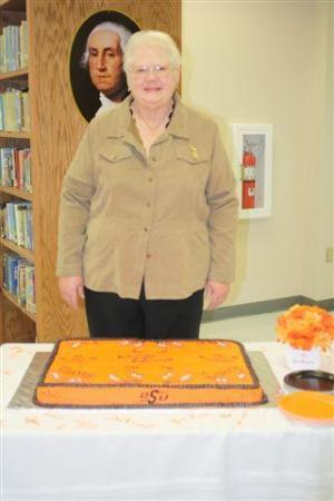 Mrs. Worley, we wish you well on your retirement!