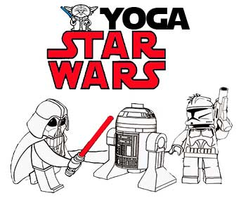 Star Wars Yoga (for younger kids)