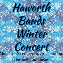 Haworth Band Winter Concert Flyer 2019