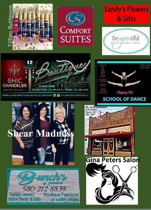Page 2 of Sponsor Ads for the Miss Haworth Pageant