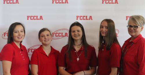 FCCLA Students who attended Fall Conference