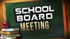 school board meeting image