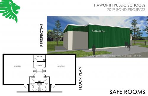 Picture of the Proposed Bond Project Saferoom
