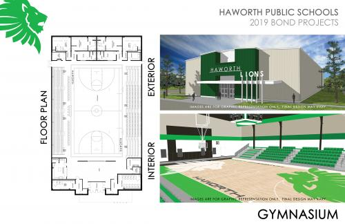 Picture of the Bond Proposed Gym project