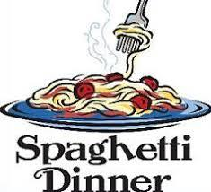 Spaghetti Dinner Fundraiser Advertisement for FCA on August 28, 2018