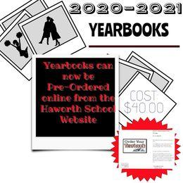 Yearbook Ad for Sales 2021