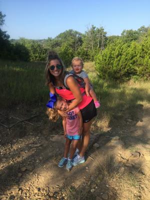 Hiking at Lake Texoma