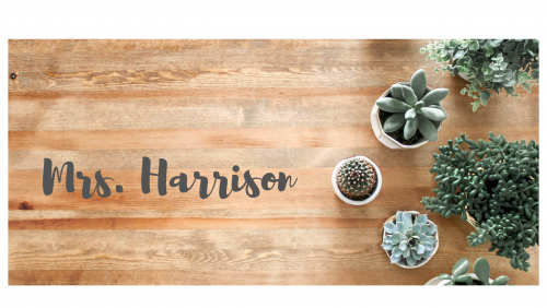 Harrison - Title Page Pic