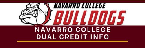 Navarro College Dual Credit Info