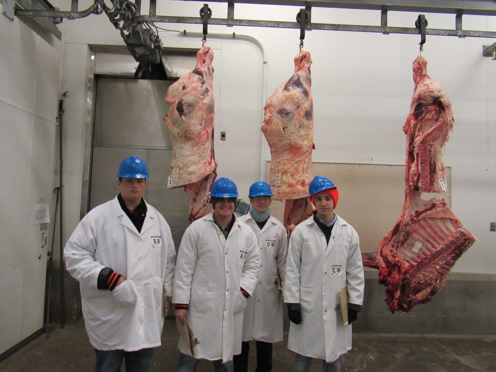 Warren FFA Meats Team