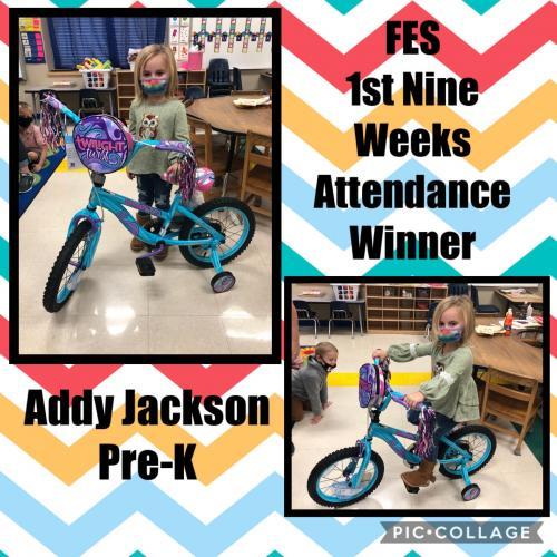 1st Nine Weeks Attendance Incentive