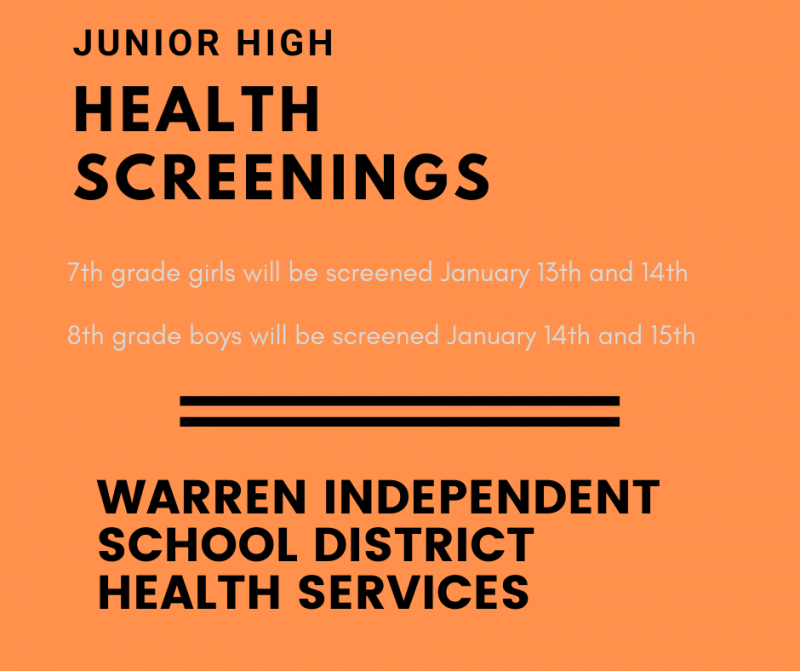 JH Health Screening