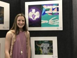 Thumbnail Image for Article RJH Student Honored for Outstanding Artwork