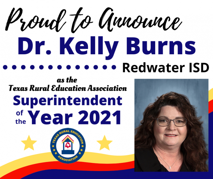 Dr. Burns- Superintendent of the Year