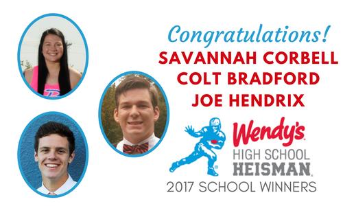 Wendys Heisman School Winners