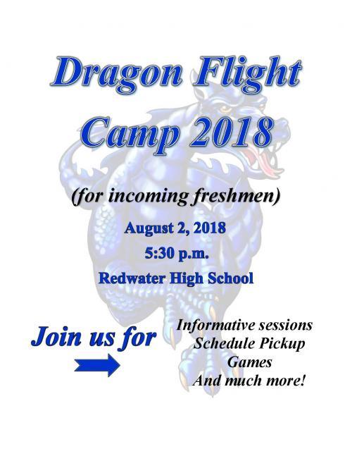 Dragon Flight Camp 2018