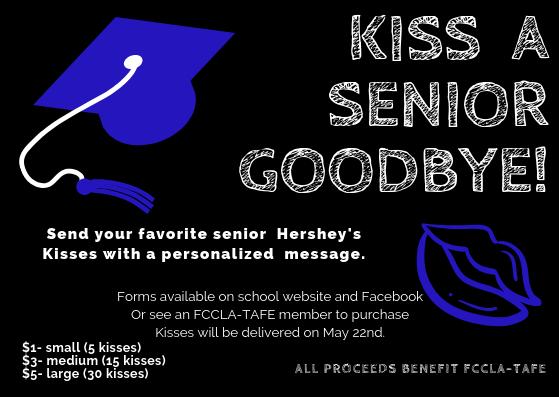 Kiss a senior goodbye!