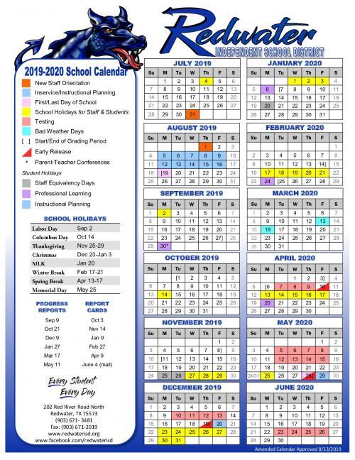 RISD Calendar