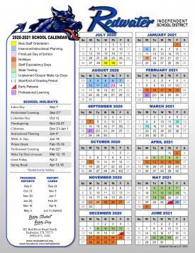 2020-2021 RISD Calendar