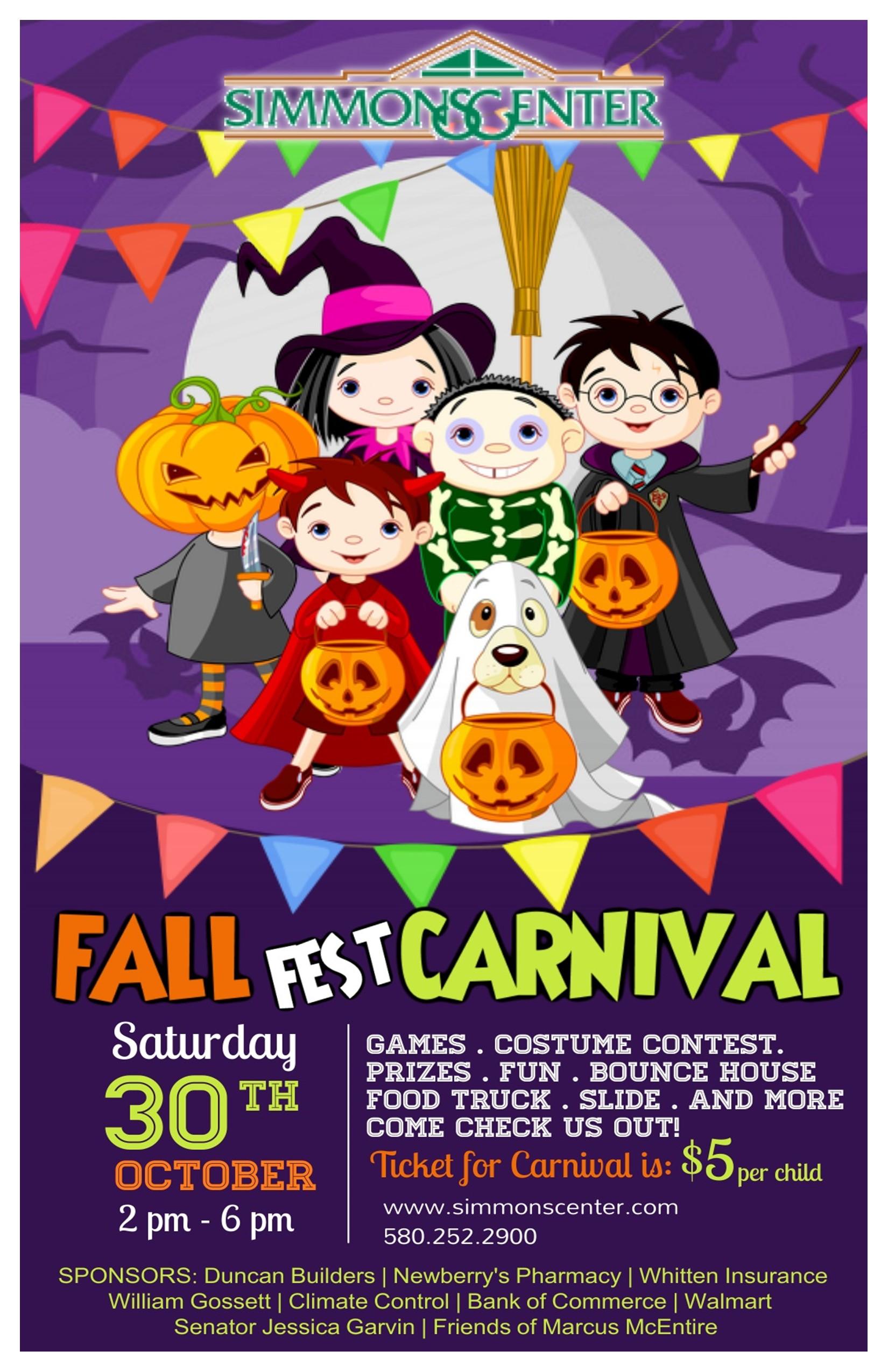 Fall Fest Carnival 2021