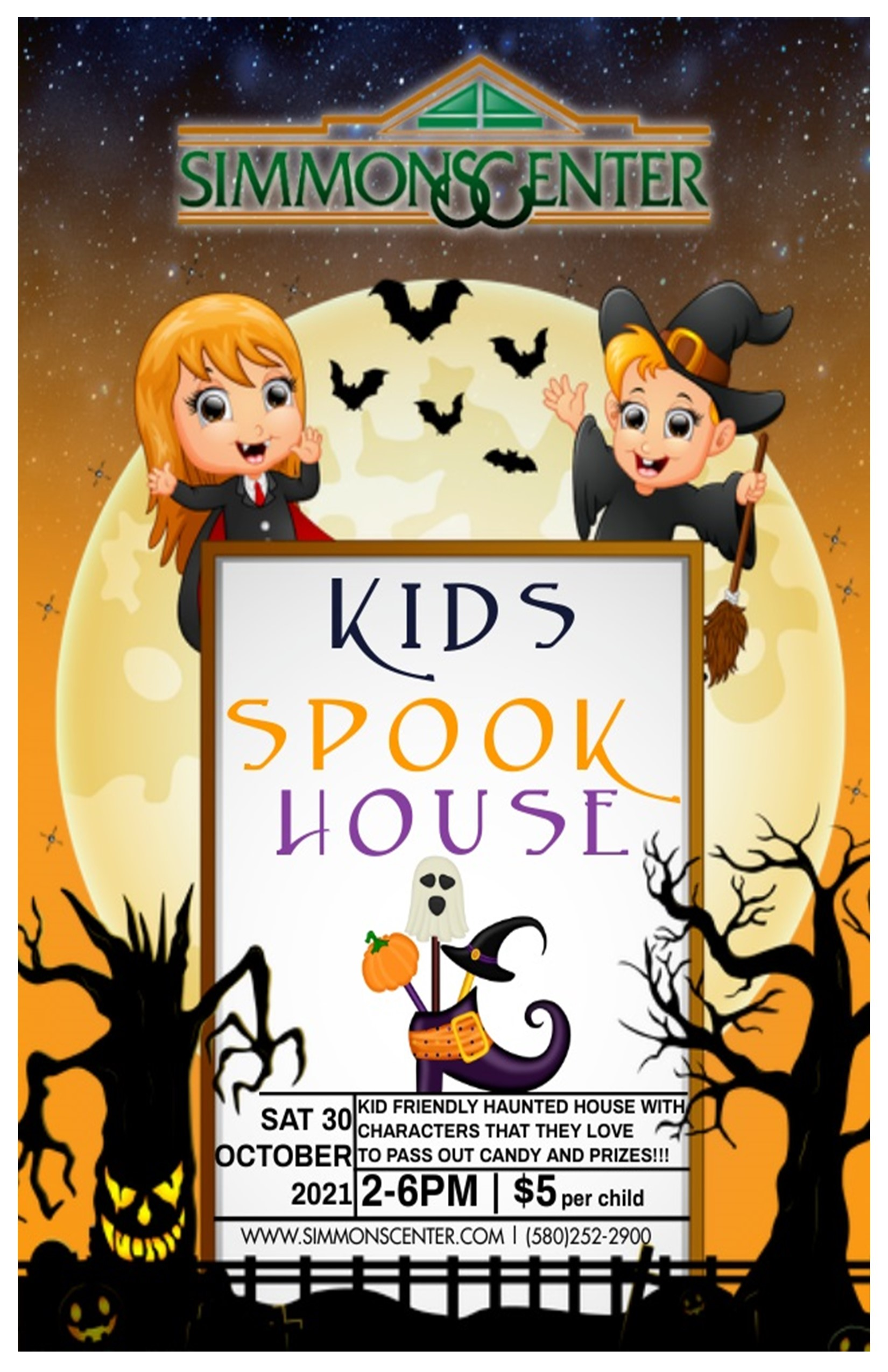 Kids Spook House 2021