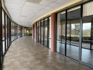 Redbud Courtyard Hallway