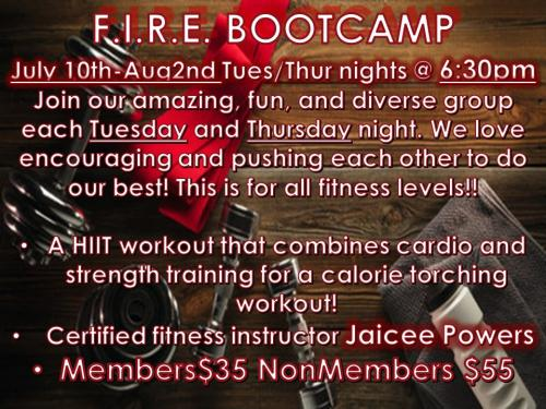 fire bootcamp
