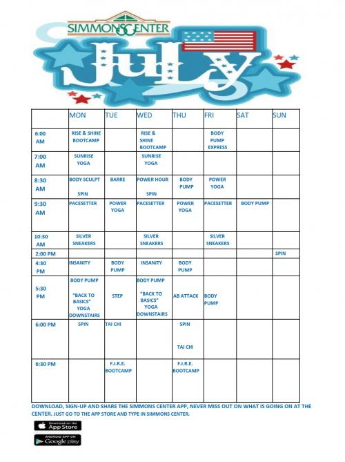 july fitness