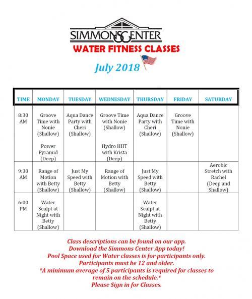 july  w fitness