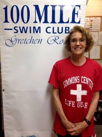 Gretchen Roddy 1st 100 Mile Swimmer