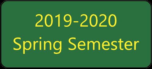 2019-2020 Spring Semester