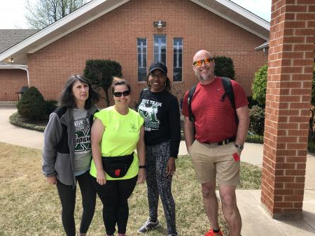 MPS Staff Walk for Education